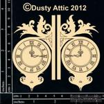 Чипборд от Dusty Attic - Wall Clock №2 - ScrapUA.com