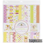 Набор бумаги для скрапбукинга от Doodlebug - Bundle Of Joy, 30х30 см, 12+1 лист - ScrapUA.com