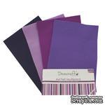 Набор отрезков фетра от Dovecraft - Felt Multiple Pack - Purples, 8 шт. - ScrapUA.com