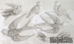 Молды от IOD - Birdsong 6x10 Decor Moulds™, 15x26 см - ScrapUA.com