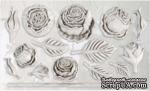 Молды от IOD - Heirloom Roses 6x10 Decor Moulds™, 15x26 см - ScrapUA.com