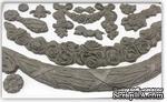 Молды от IOD - Swags 6x10 Decor Moulds, 15x26 см - ScrapUA.com