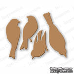 Нож от Impression Obsession - Bird Set - ScrapUA.com
