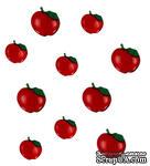 Набор декоративных пуговиц Dress It Up - Apples - ScrapUA.com