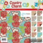 Набор скрапбумаги GCD Studios - Country Charm Collection, 12 двусторонних листов, размер 30х30 см - ScrapUA.com