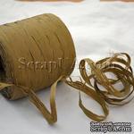 Рафия натуральная, цвет светло-коричневый, 1 метр - ScrapUA.com