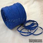 Рафия натуральная, цвет синий, 1 метр - ScrapUA.com