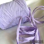 Рафия натуральная, цвет нежно-сиреневый, 1 метр - ScrapUA.com