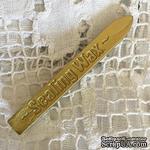 Воск для сургучной печати, цвет бронза зеленая, 9х1х1см, 1 штука - ScrapUA.com