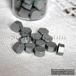 Воск для сургучной печати, цвет серебро, 8х8х4 мм, 1 штука - ScrapUA.com