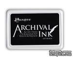 Архивные чернила Ranger - Archival Ink Pads - Jet Black, черные - ScrapUA.com