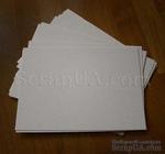 Пивной картон, молочно-серый, 1,2 мм, 1 шт. (цена зависит от размера) - ScrapUA.com
