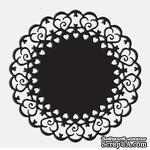 Лезвие Die-Versions - Whispers - Ring of Hearts, размер 9,2х9,2 см - ScrapUA.com