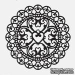 Лезвие Die-Versions - Whispers - Heart Burst, размер 9,2х9,2 см - ScrapUA.com