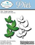 Нож  от   Elizabeth  Craft  Designs  -  Triple  Leaf  Set  ,6  элементов. - ScrapUA.com