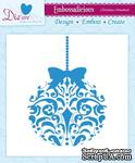 Папка для тиснения от Crafter's Companion - Embossalicious Embossing Folder - Christmas Ornament15x15 см - ScrapUA.com