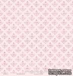 """Лист бумаги с глиттером от Евгения Курдибановская TM - """"Розовый"""", 30х30 см - ScrapUA.com"""