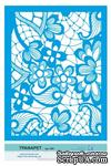 Трафарет от Евгения Курдибановская ТМ - Кружева, формат А5 - ScrapUA.com