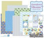 Набор бумаги - Мальчик, 30х30 см, бумага односторонняя, 8 листов - ScrapUA.com