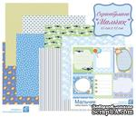 Набор бумаги от Евгения Курдибановская ТМ - Мальчик, 15х15 см, 8 листов - ScrapUA.com