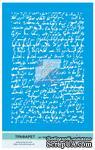Трафарет от Евгения Курдибановская ТМ - Старинное письмо, формат А5 - ScrapUA.com