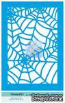 Трафарет от Евгения Курдибановская ТМ - Паутина, формат А5 - ScrapUA.com