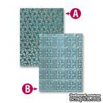 Папки для тиснения от Spellbinders - Patchwork, 2 шт - ScrapUA.com