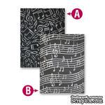 Папки для тиснения от Spellbinders - Music, 2 шт - ScrapUA.com