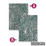 Папка для тиснения от Spellbinders - Numbers and Letters - ScrapUA.com