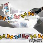 Лента Eyelet Outlet - Butterfly Fall Ribbon, ширина 18 мм, длина 90 см - ScrapUA.com