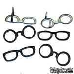 Набор брадсов Eyelet Outlet - Eye Glass Brads, 12 штук - ScrapUA.com