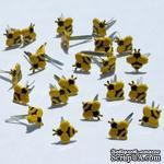 Набор брадсов Eyelet Outlet - Mini Bee Brads, 12 штук - ScrapUA.com