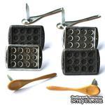 Набор брадсов Eyelet Outlet - Baking Brads, 12 штук - ScrapUA.com