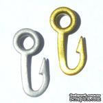 Набор люверсов Eyelet Outlet - Hook Quicklets, 20 штук - ScrapUA.com