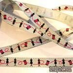 Лента Eyelet Outlet - Sewing Ribbon, ширина 18 мм, длина 90 см - ScrapUA.com