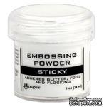 Липкая пудра для эмбоссинга Ranger - Sticky Embossing Powder - ScrapUA.com