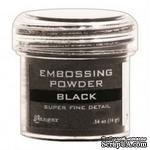 Пудра для эмбоcсинга Ranger - Super Fine Black - ScrapUA.com