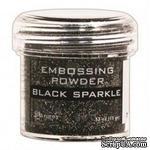 Пудра для эмбоcсинга Ranger - Black Sparkle - ScrapUA.com