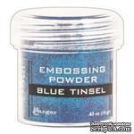 Пудра для эмбоcсинга Ranger - Blue Tinsel - ScrapUA.com