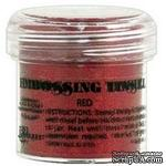Пудра для эмбоcсинга Ranger - Red Tinsel - ScrapUA.com
