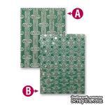 Папки для тиснения от Spellbinders - Retro Mod, 2 шт. - ScrapUA.com