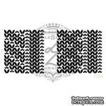 Акриловый штамп Lesia Zgharda F098 Узоры косичка, набор из 2 штампов - ScrapUA.com