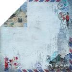 Лист двусторонней скрапбумаги Fabscraps - Romantic Travel Double-Sided Paper - Travel Culture 2, 30х30 см - ScrapUA.com