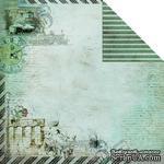Лист двусторонней скрапбумаги Fabscraps - Romantic Travel Double-Sided Paper - Travel Romance 1, 30х30 см - ScrapUA.com