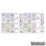 Набор полос с карточками и тегами для декорирования Wedding of our dream, ТМ Фабрика Декора - ScrapUA.com