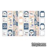 Набор полос с карточками и тегами для декорирования Flower mood, ТМ Фабрика Декора - ScrapUA.com