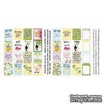 Набор полос с карточками и тегами для декорирования Tropical paradise, ТМ Фабрика Декора - ScrapUA.com