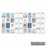 Набор полос с карточками и тегами для декорирования Sea Breeze, ТМ Фабрика Декора - ScrapUA.com