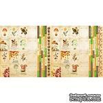 Набор полос с карточками и тегами для декорирования Botany autumn, ТМ Фабрика Декора - ScrapUA.com