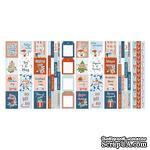 Набор полос с карточками для декорирования Winter in the city, ТМ Фабрика Декора - ScrapUA.com
